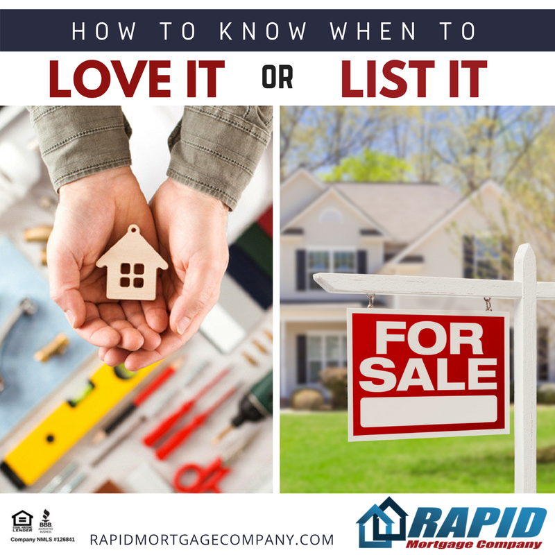 "Is Your Home ""Just Right?"" Know When to Love It and When to List It"